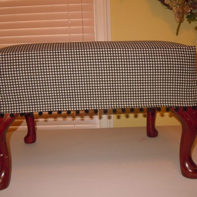 Create a Slipcover for Your Ottoman
