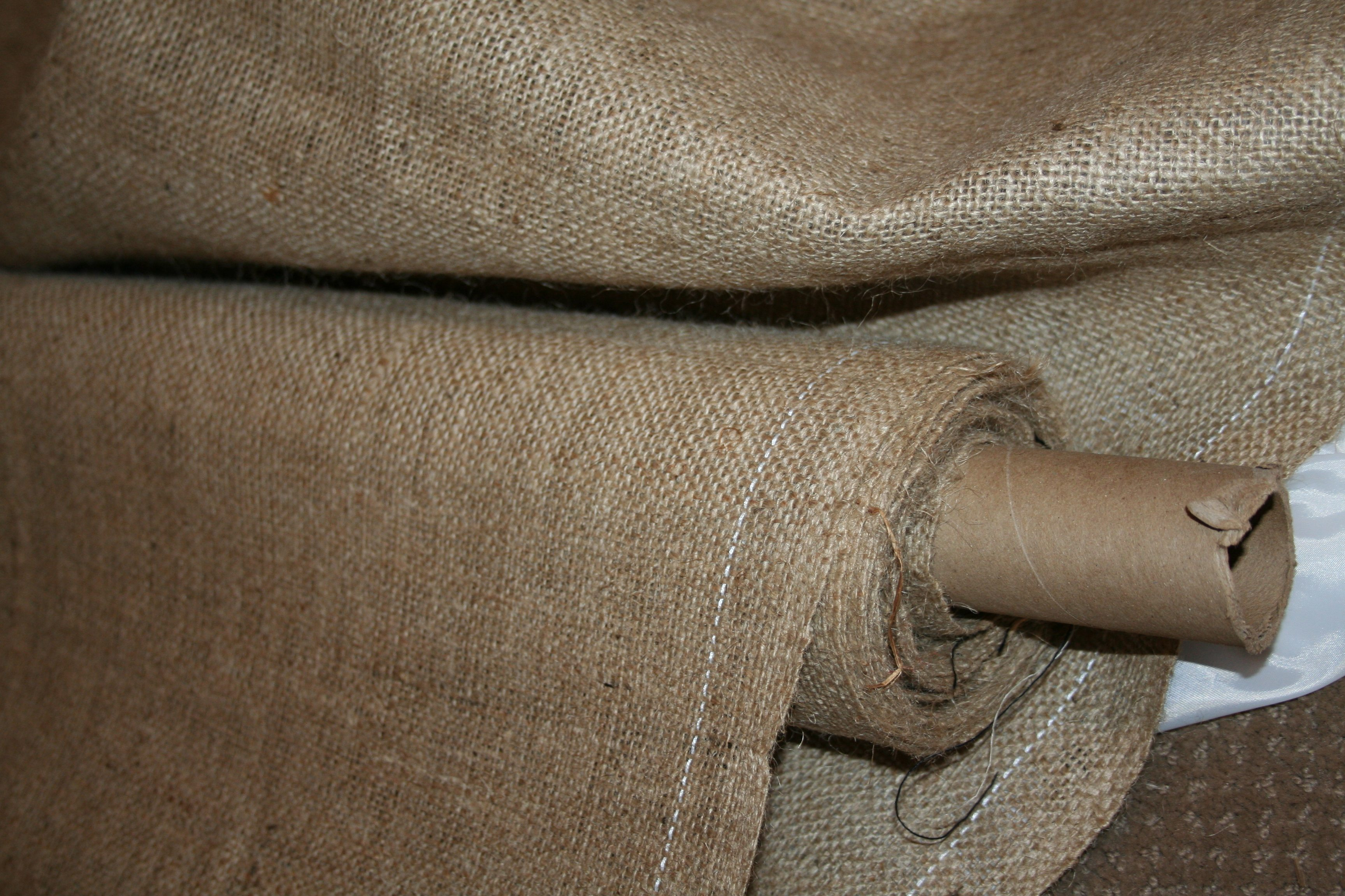 Roll of Fresh Burlap!