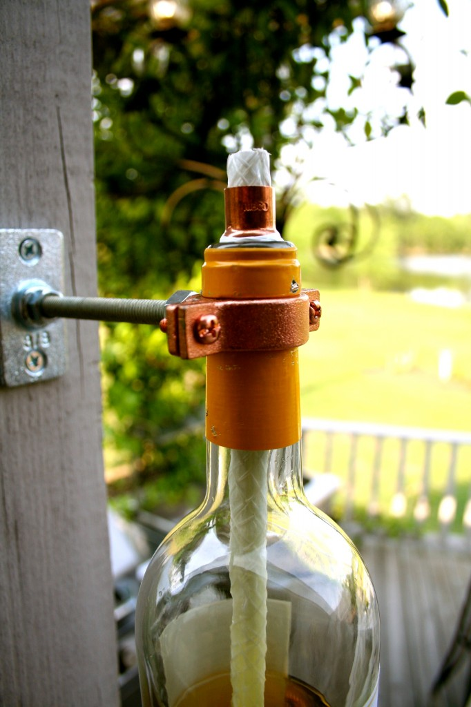 Recycled Wine BottleTorch