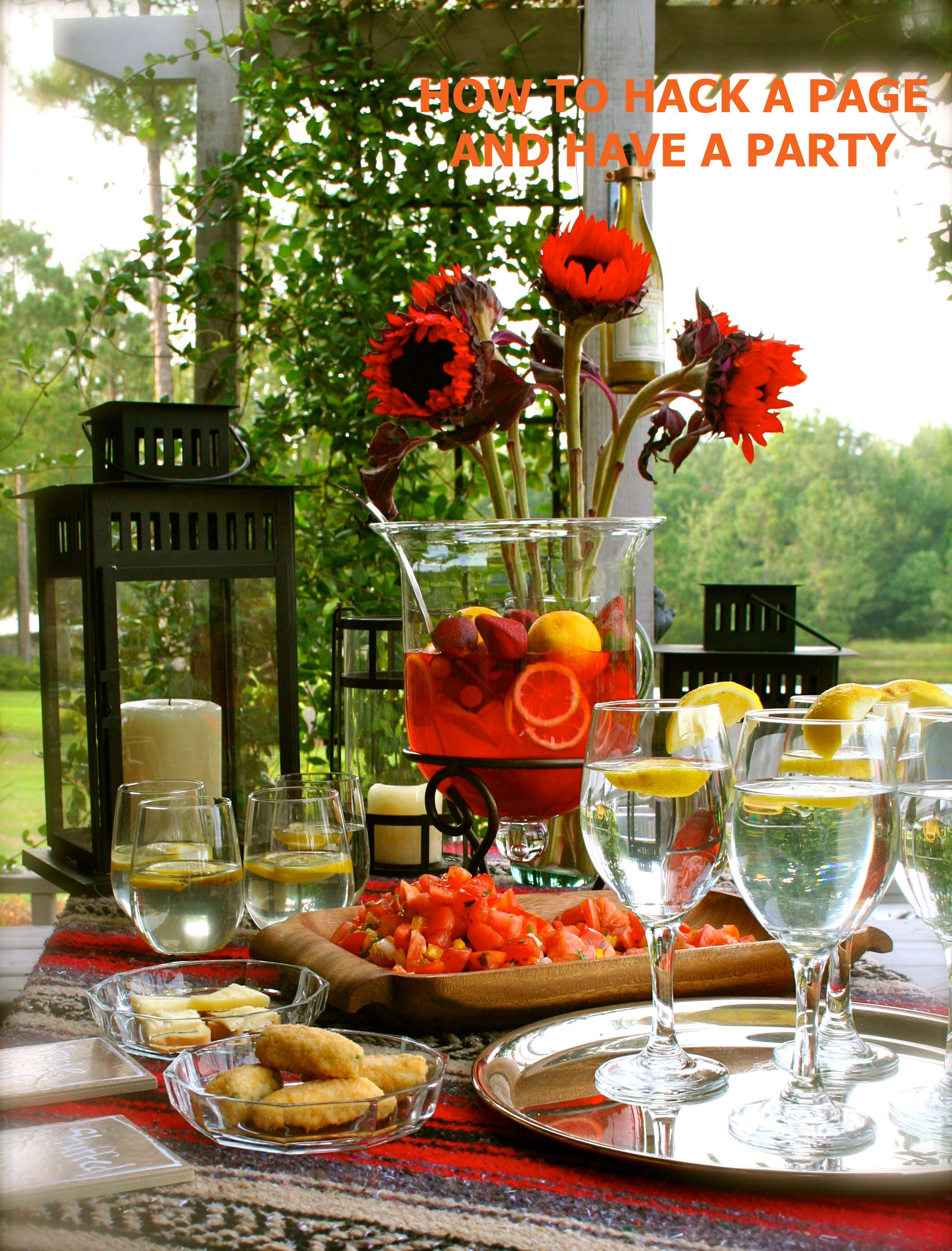 Pottery Barn inspired party
