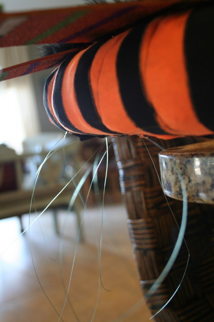 attach-halloween-decor-with-fishing-line