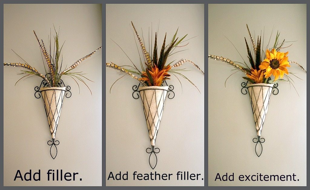 How to make a fall door arrangement.