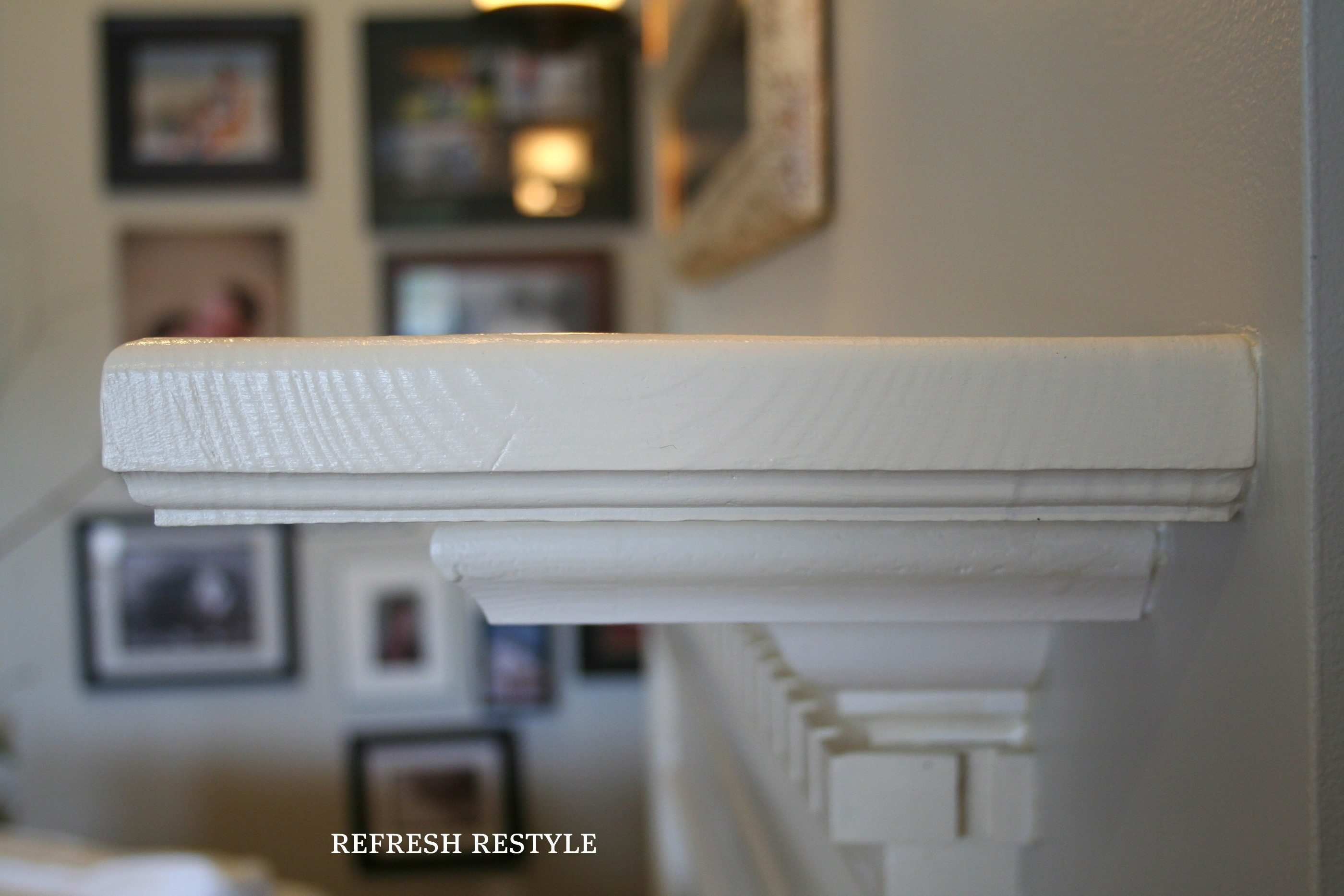 Mantel Extension Refresh Restyle