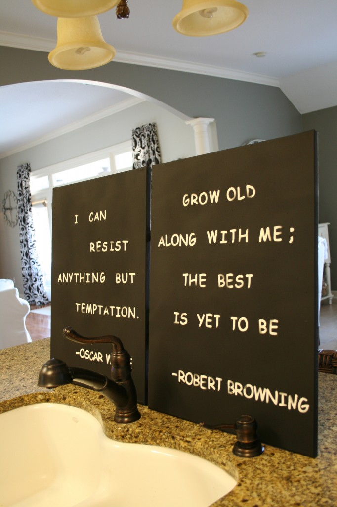 Spray Painted sign #diycraft #signs #spraypainted