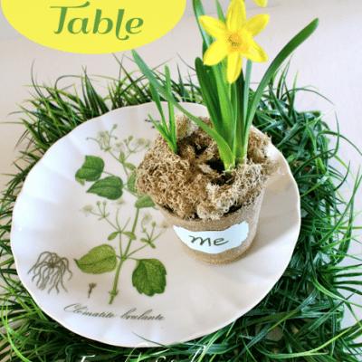 Spring Table Idea