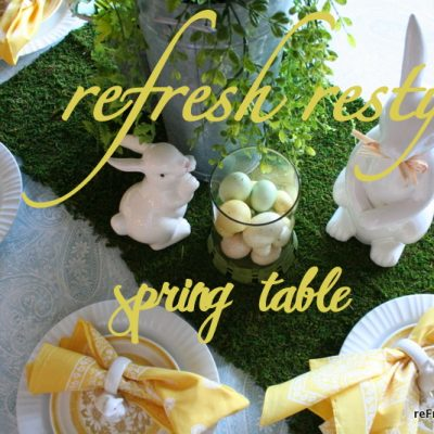 Spring'tacular Tablescapes & Recipes Party
