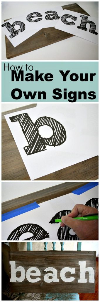 How to Make you Own Signs