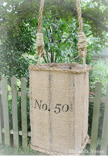 Jute Hurricane Lantern and more…