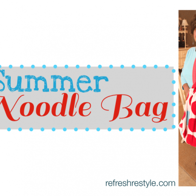 Summer Beach Bag~Noodle Party