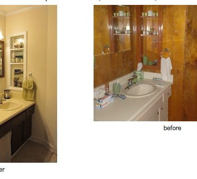 Recipes and Bathroom Makeover