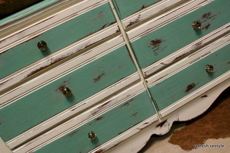 Ocean Breeze Dresser