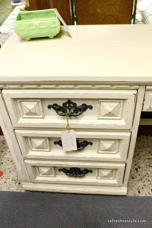 Thrifty Desk Makeover