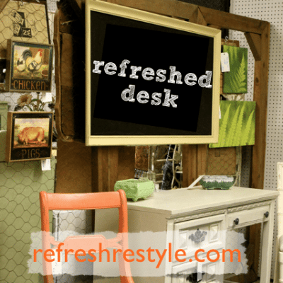 Thrifting Day Desk