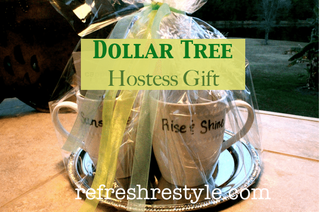 Dollar Tree Hostess Gift from refreshrestyle.com