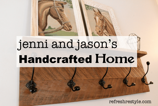 Barn wood coat rack and paint by numbers horses