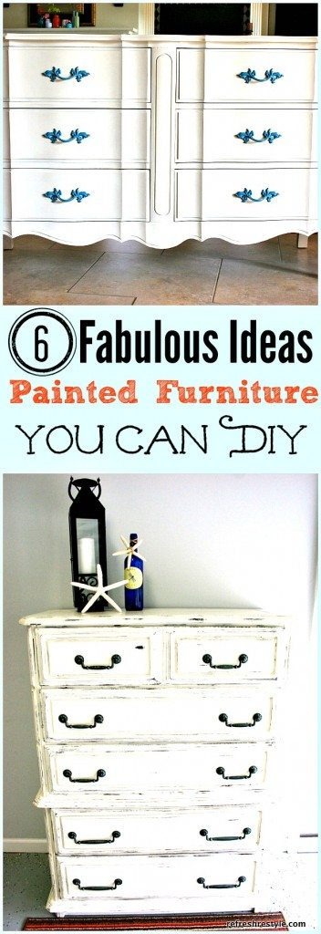 Diy Painted Furniture #diyprojects #paintedfurniture