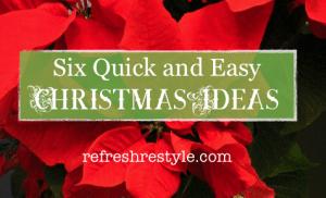 Six Christmas Ideas