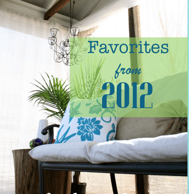 DIY – Do it Yourself {favorites of 2012}