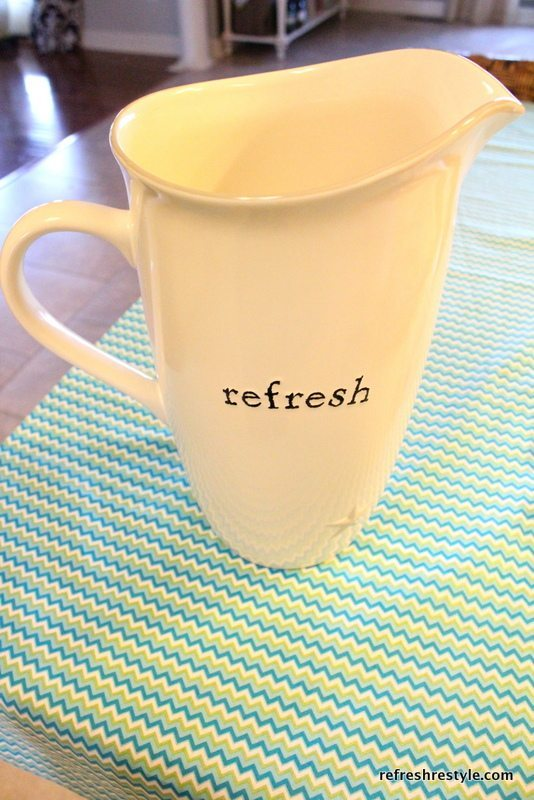 refresh pitcher