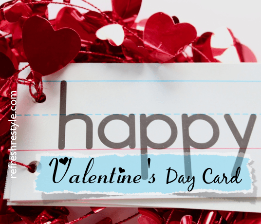 Make your own Valentine's Day Card