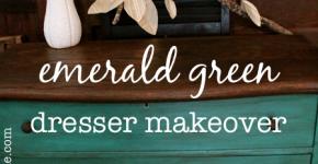 Emerald Green Dresser