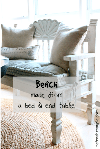 Pleasing How To Make A Bench Refresh Restyle Short Links Chair Design For Home Short Linksinfo