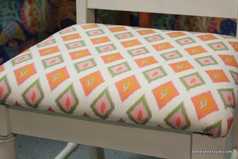 Orange seat cover