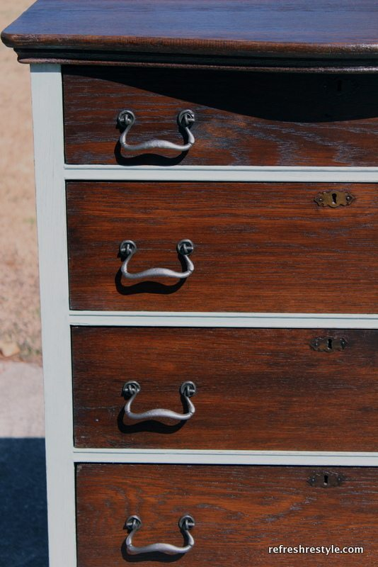 close up on drawer