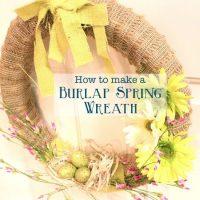 Burlap Noodle Wreath