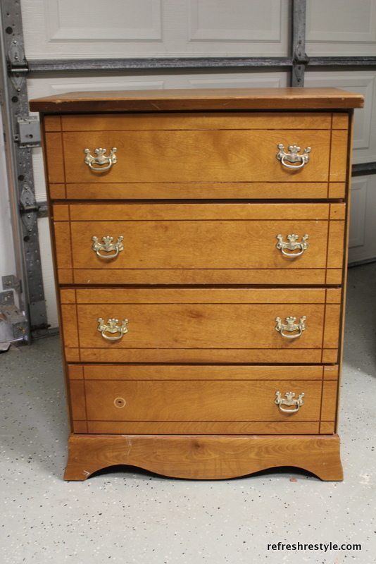 Before chest of drawers