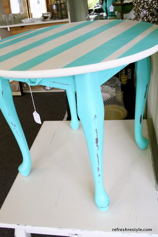leggy end table