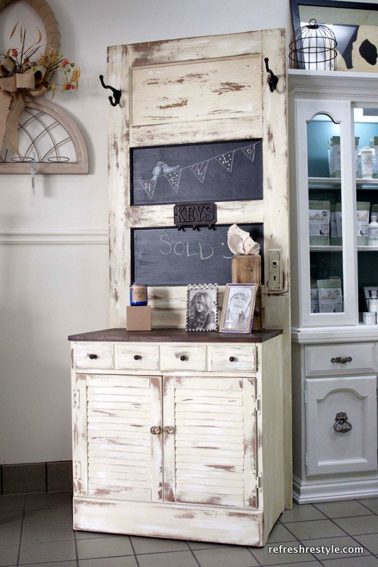 How to make a hall tree refresh restyle for Furniture xo out of business