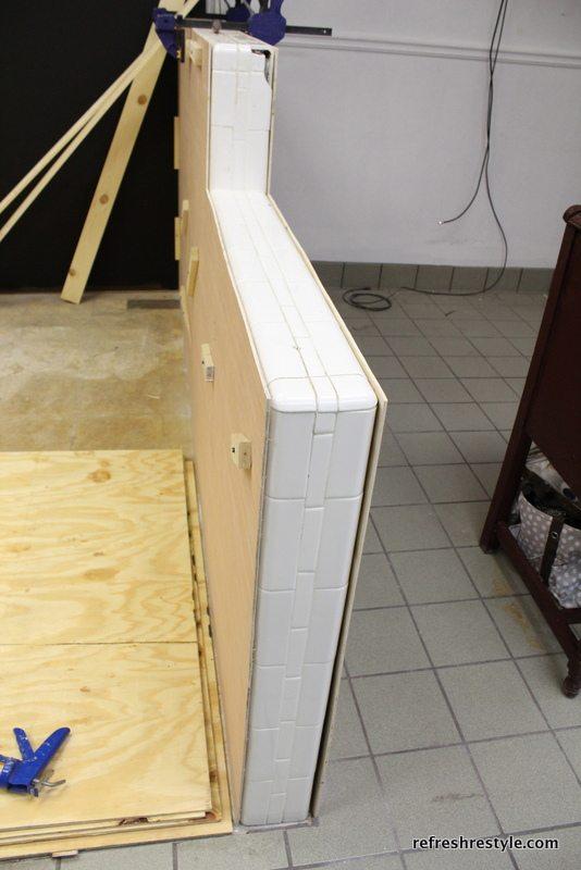 tiled wall repair