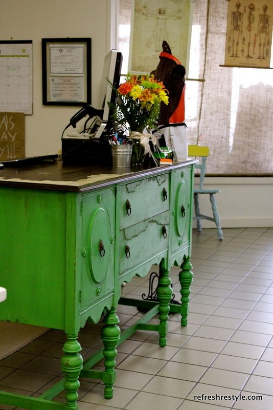 Green used in Decor
