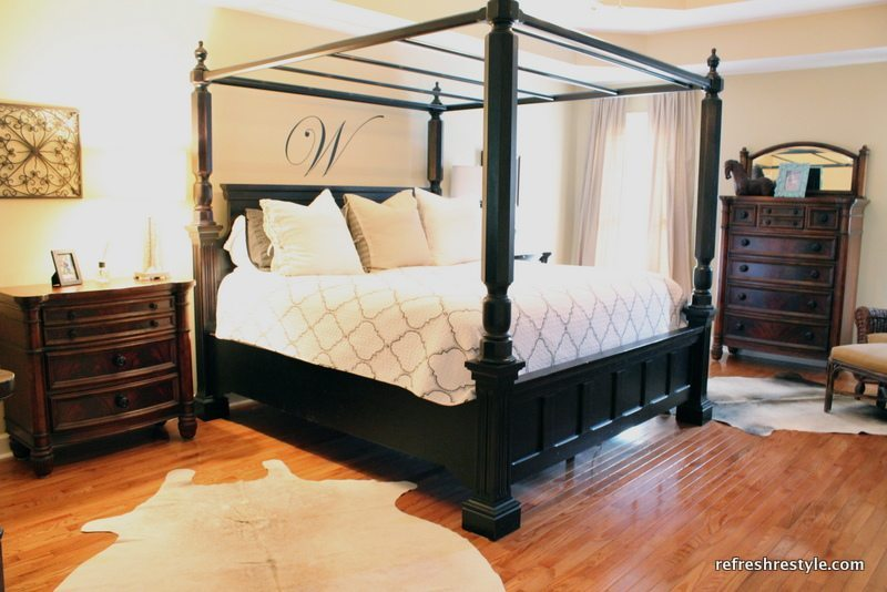 Tour the House - Master Bedroom