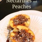 Grilled Nectarines and Peaches Recipe