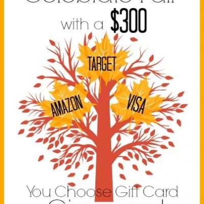 Celebrate Fall {$300 Gift Card} Giveaway!