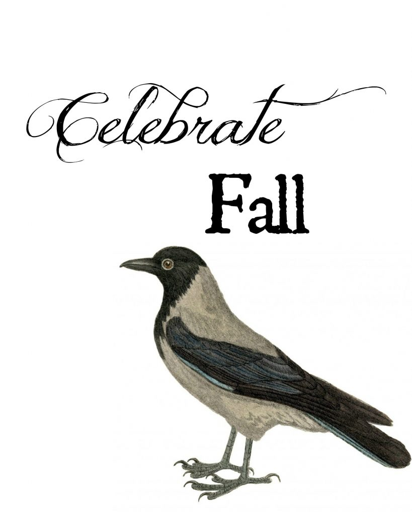 Autumn Print - free fall printable - Farmhouse decor idea from Refresh Restyle