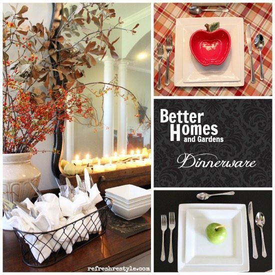 Better Homes and Gardens Dinnerware