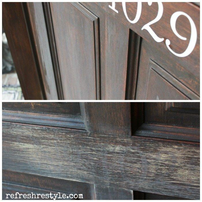 Before door numbers