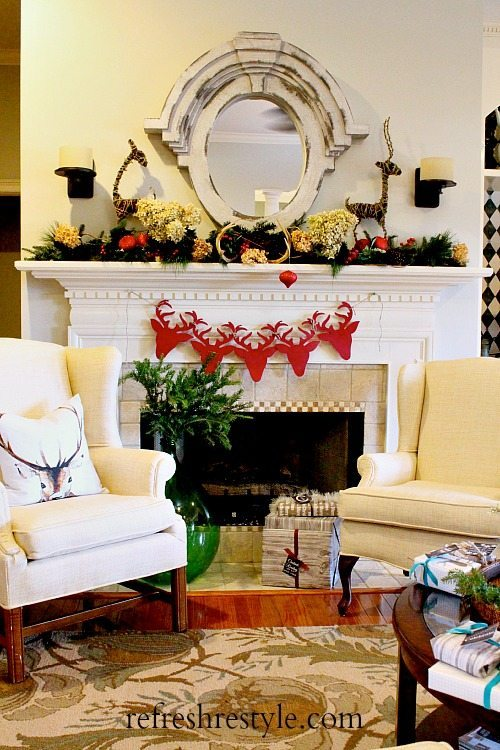 Deer Mantel