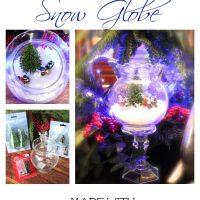 Dollar tree snow globe