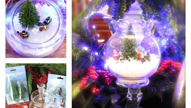 Dollar tree snow globe