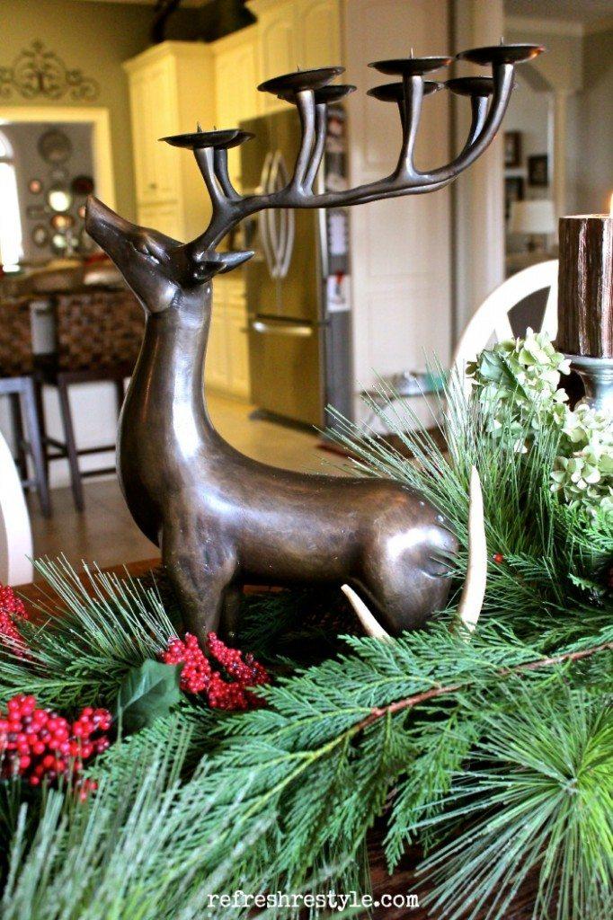 farm table deer