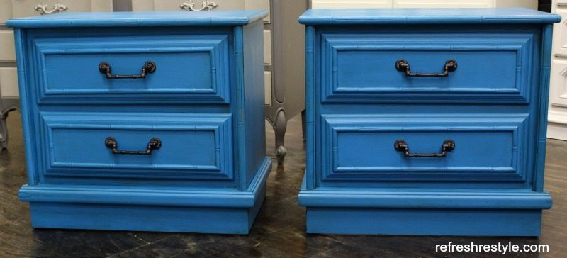 Faux Bamboo Furniture - Maison Blanche Furniture Paint
