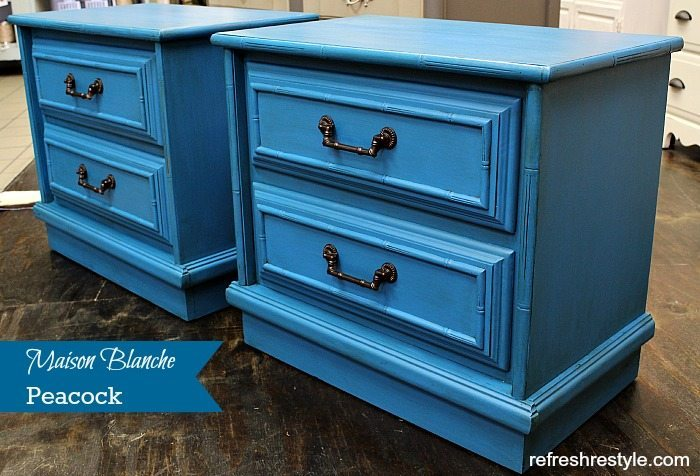 Faux Bamboo Furniture - Painted