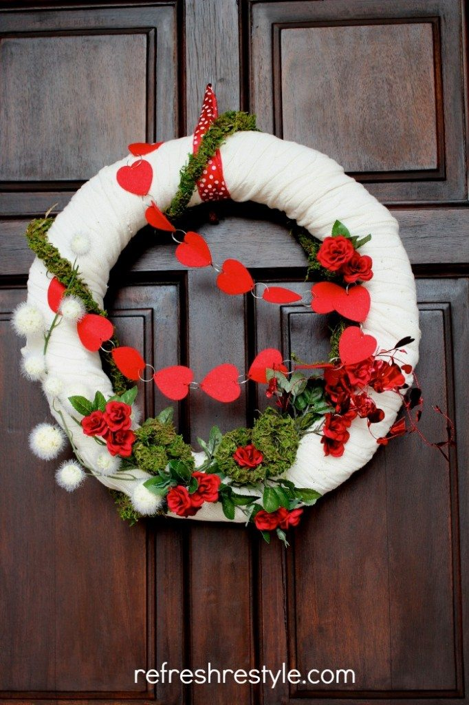 Valentine Wreath - Refresh Restyle