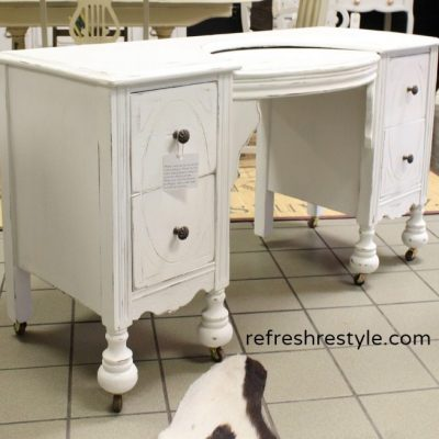 Repair and Paint a Vanity