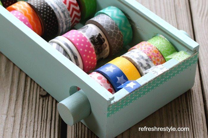 Washi Tape Organzier
