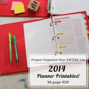 Printable Love {Customize Planner and Printables}